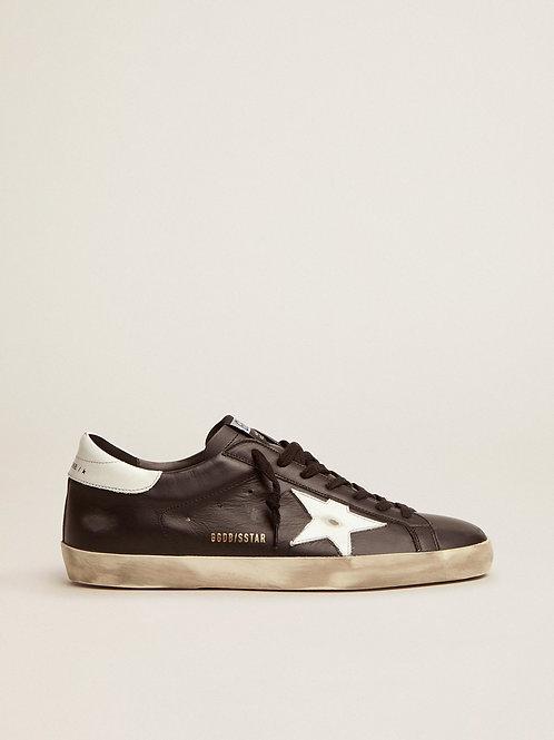 Golden Goose Super Star Sneaker (Black & White)
