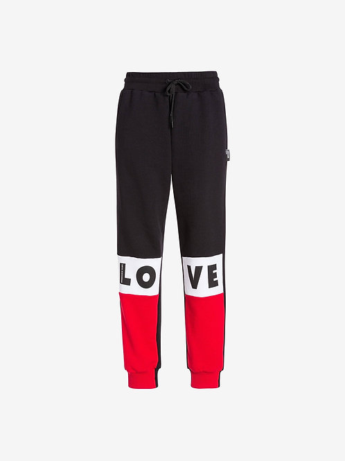 Love Moschino Tricolor Sweatpant