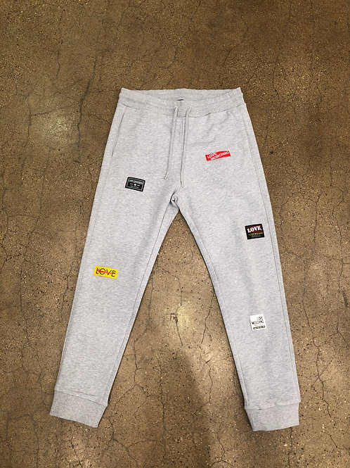 Love Moschino Patches Sweatpant