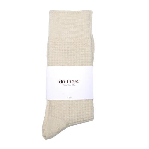 Druthers Merino Wool Waffle Sock