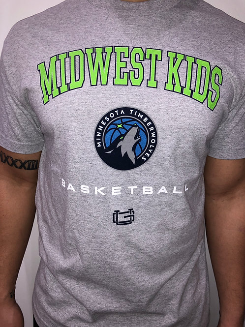 Midwest Kids x Ultra Game Minnesota Timberwolves Tee