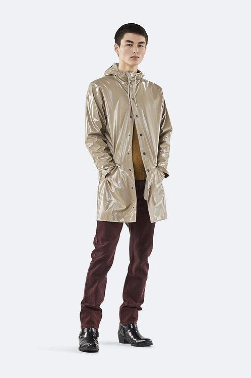 RAINS Holographic Long Jacket