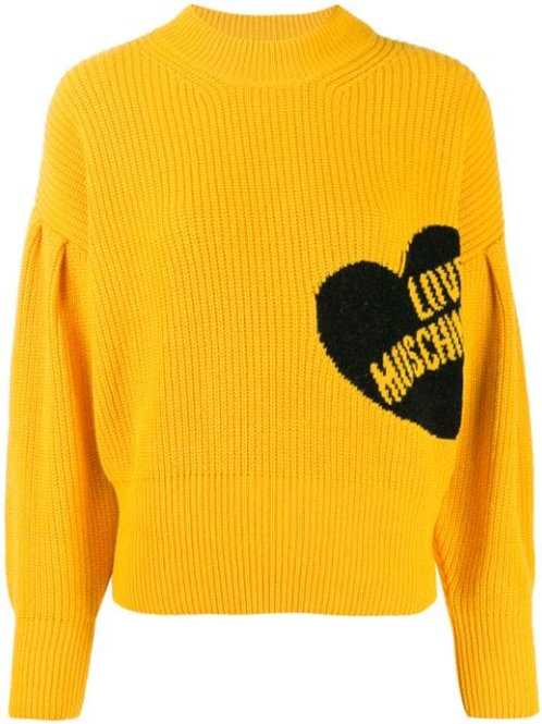 Love Moschino Ribbed Sweater
