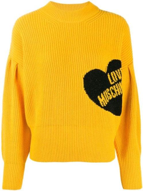 Love Moschino Ribbed Sweater