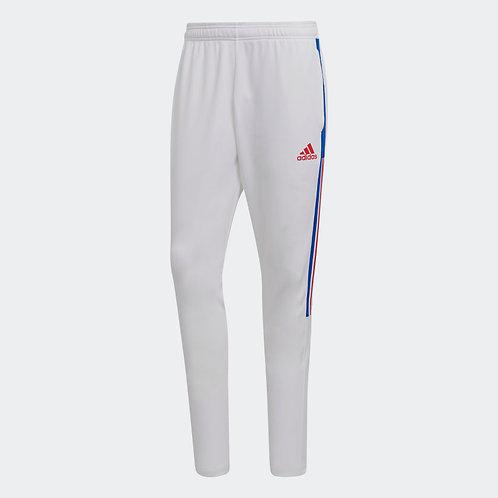 adidas Tiro 21 Training Pant (White & Blue)