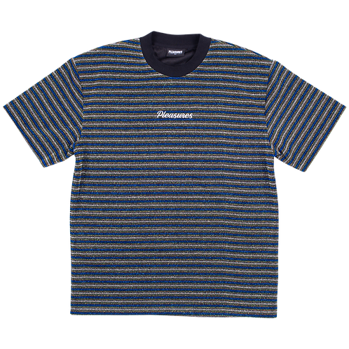 Pleasures Disturbed Glitter Stripe Shirt