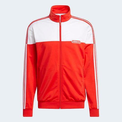 Adidas Split Firebird Track Jacket (Red)