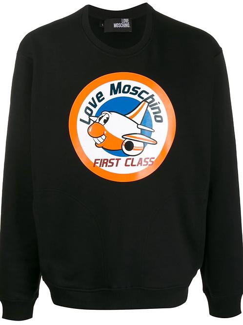 Love Moschino First Class Crewneck