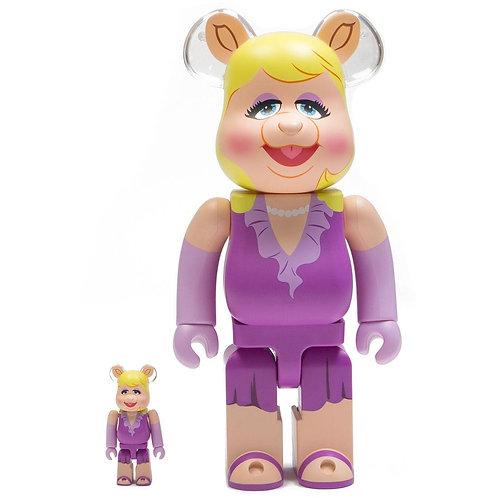 BE@RBRICK The Muppets - Miss Piggy 100% & 400% BEA 2PK