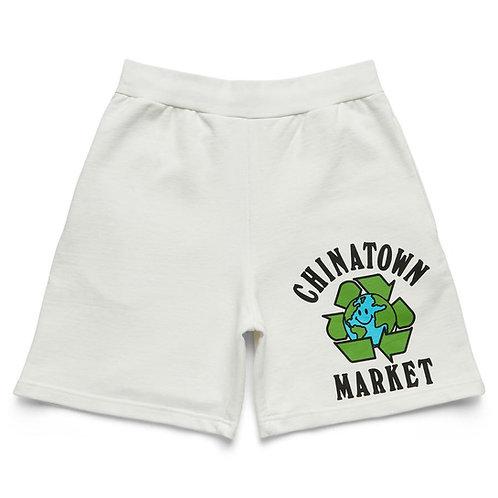 Chinatown Market Recycle Global Sweatshorts