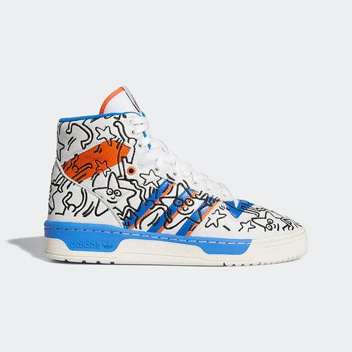 Adidas Rivalry Hi Keith Haring