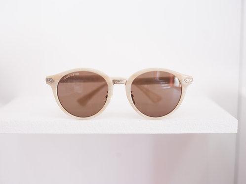 Titanium Round Frame Sunglasses