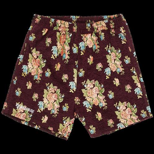Pleasures Dejavu Woven Floral Shorts