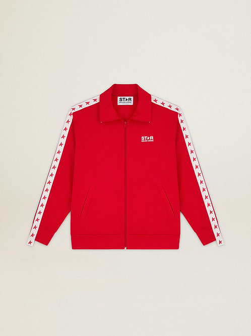 Golden Goose Star Collection Track Jacket (Red)