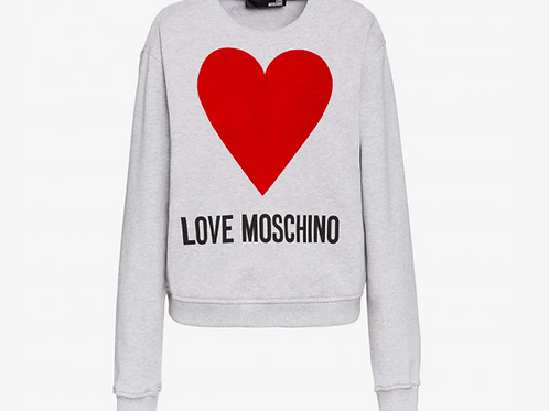 Love Moschino Heart Sweatshirt