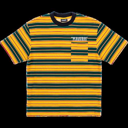Pleasures Chainsmoke Stripe Shirt