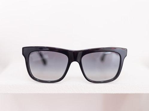 Acetate Square Frame Sunglasses