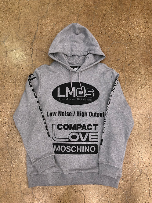 Love Moschino Logomania Hoodie