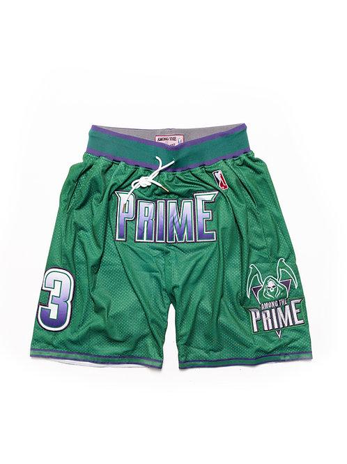 Among The Prime Championship Shorts (GREEN)