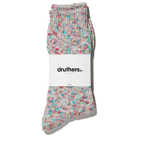 Druthers Tie Dye Yarn Crew Socks