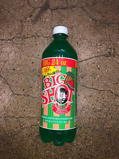 Big Shot Pineapple Watermelon Soda