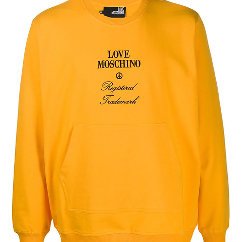 Love Moschino Pocket Crewneck