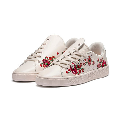 PUMA x SUE TSAI Basket Cherry Bombs Women's Sneakers