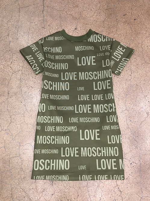 Love Moschino All Over Print Dress