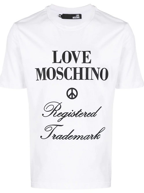 Love Moschino Logo Tee