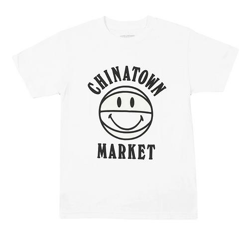 Chinatown Market UV Smiley BBall Tee