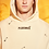 Thumbnail: Pleasures Safety Embroidered Hoody