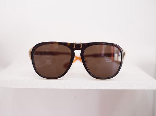 Acetate Aviator Double Frame Sunglasses