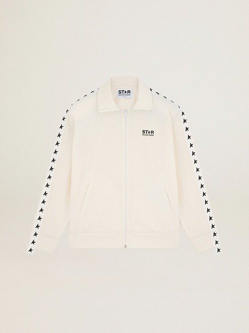 Golden Goose Star Collection Track Jacket (White)