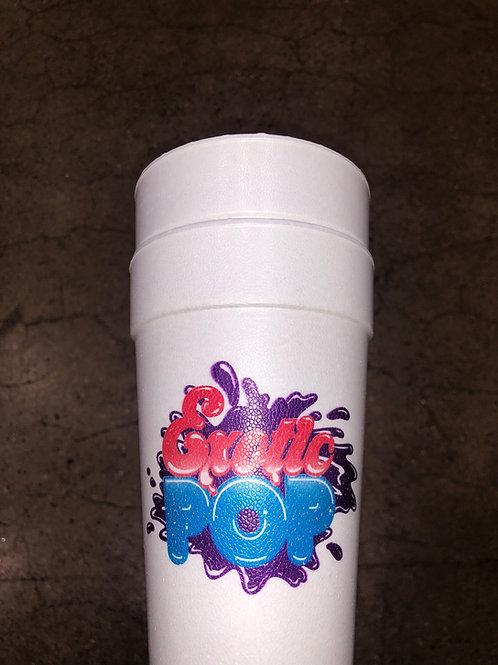 Exotic Pop Foam Cup