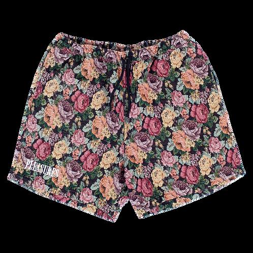 Pleasures Floral Woven Shorts