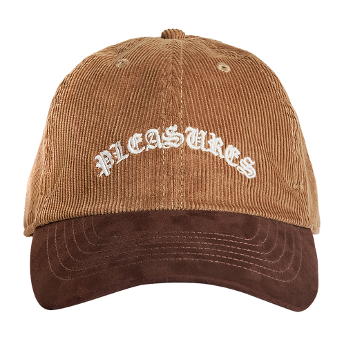 Pleasures Old E Corduroy Polo Cap