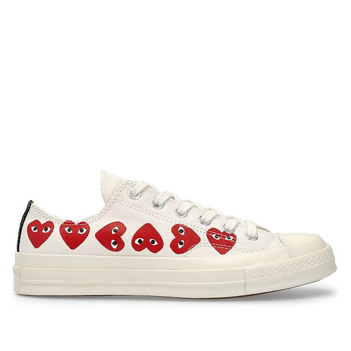 PLAY Converse Multi Heart Chuck Taylor All Star '70 Low Top