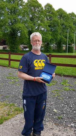 Sandy Turner - Special Recognition & Services to Rugby Award
