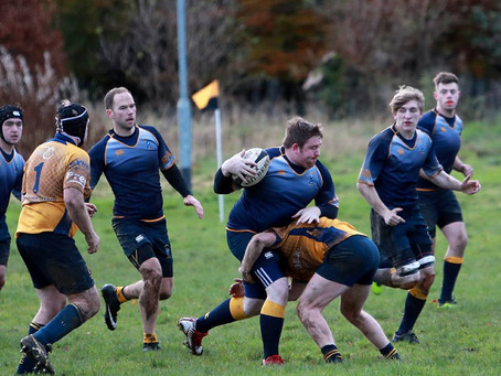 Moffat RFC vs Lanark RFC - 11th November.