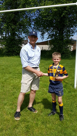 Sam Leask Player of the Tournament- Oliver Barnard