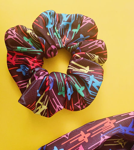 Loui$ Vuitton Scrunchie