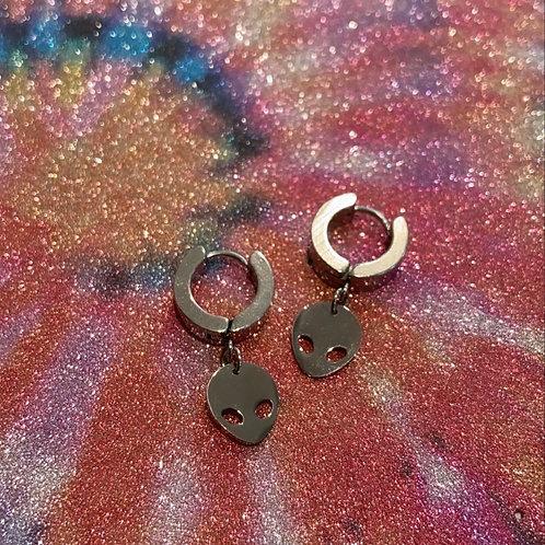 Alien Cuff Earrings