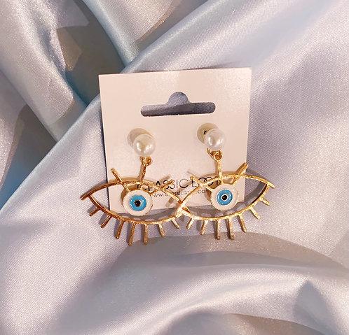 Protection Eye Earrings