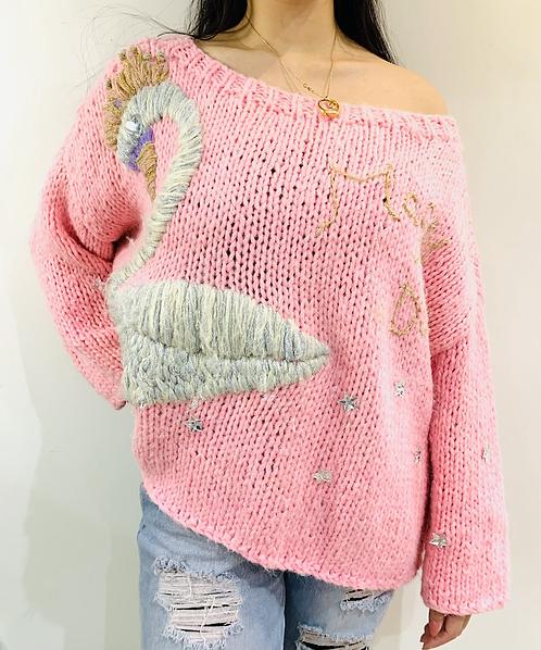 Swan Princess Oversize Sweater