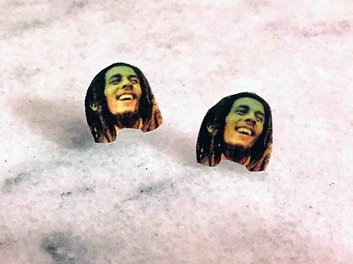 """Bob Marley"" Earrings"