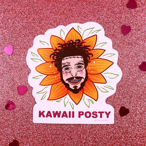 Sparklebombb Post Malone Sticker