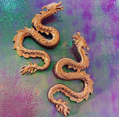 Enter The Dragon Earrings