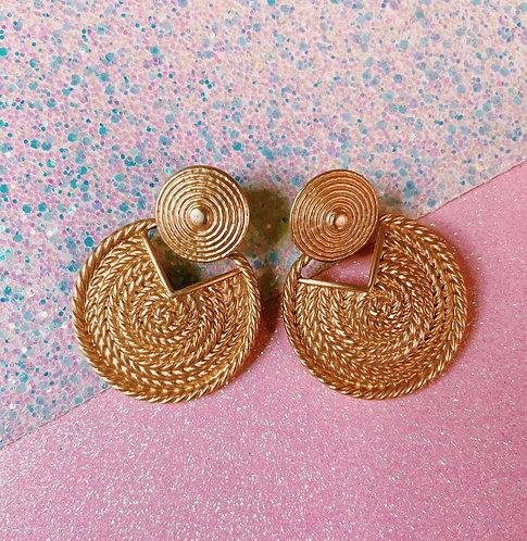 Gold Selena Earrings