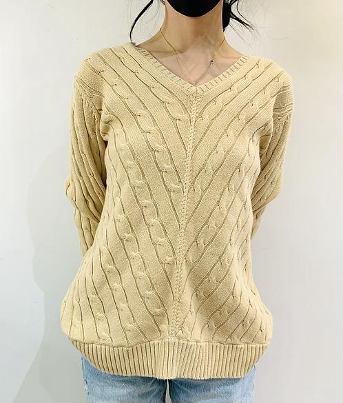 Tommy Hilfiger Tan Sweater, women's XL