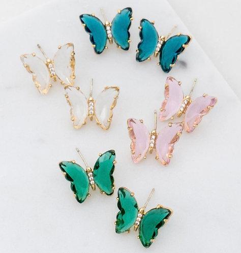 Clarissa Butterfly Earrings